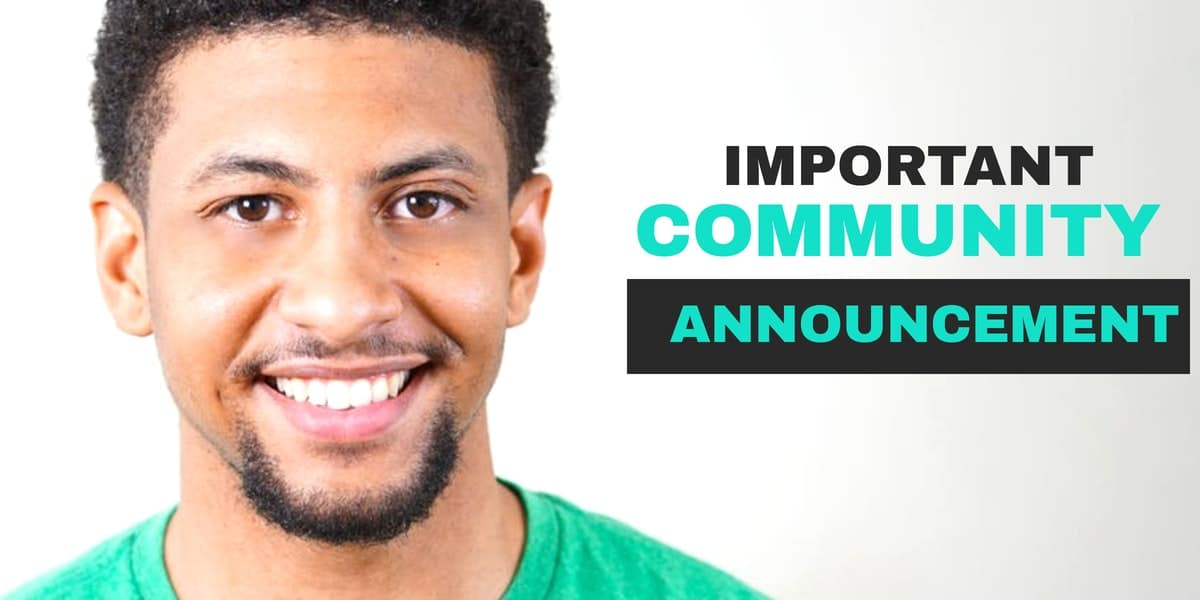 May 2019 Community Announcement